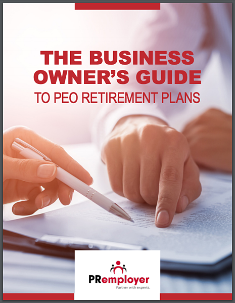 IMAGE Owners Guide to PEO Retirement Plans